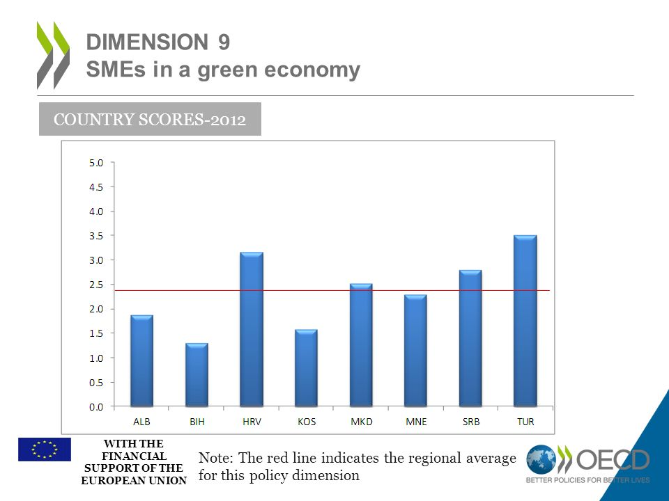 Dimension 9 SMEs in a green economy