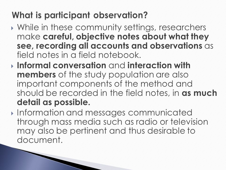 assess the view that overt observations Movements are obvious examples of overt pain behaviours others include facial   been used in an in-patient setting and observations are taken through the  course of a day  in order to view the whole posture and gait of the subject it  was.