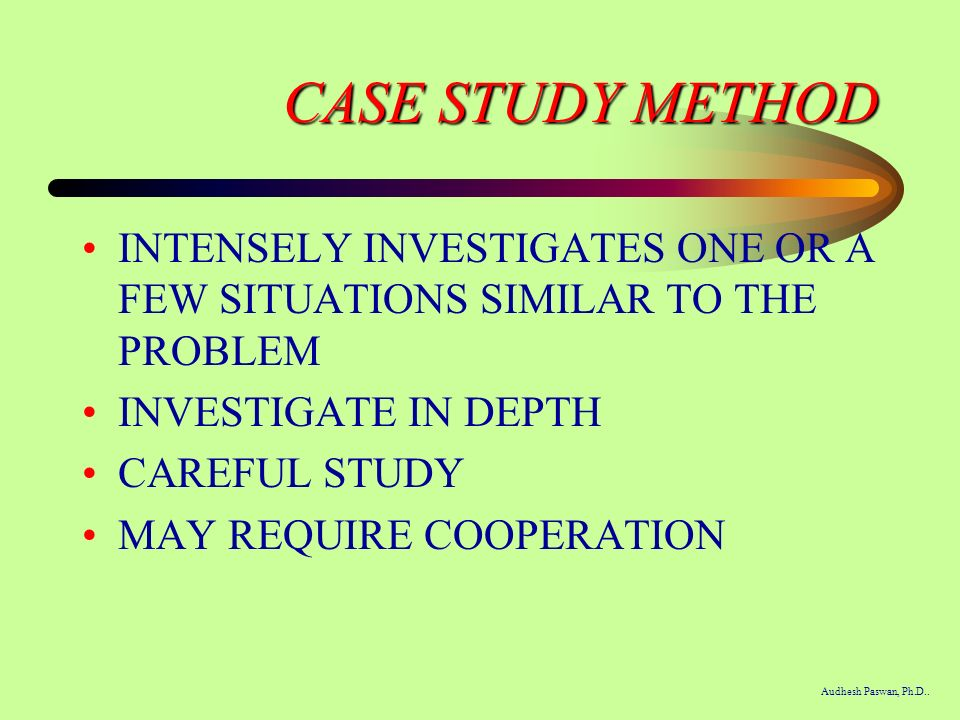 start with a story the case study method of teaching college science Browse through our free education essays,  to my own teaching process the purpose of the study is to find out  case study on the impact of.