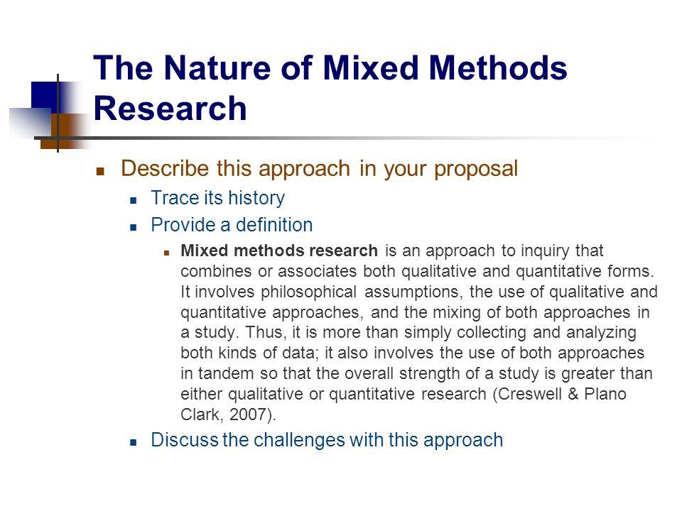 definition of quantitative research methods