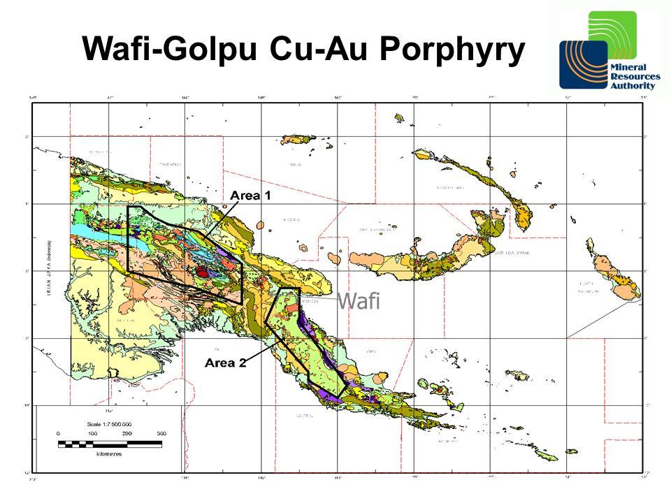 Wafi-Golpu Cu-Au Porphyry