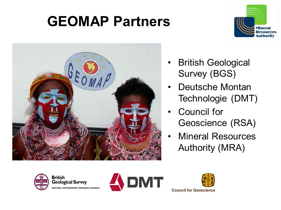 GEOMAP Partners British Geological Survey (BGS)