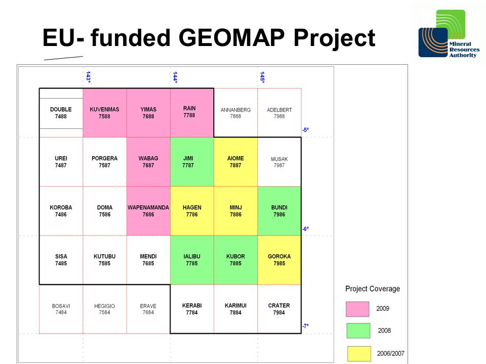 EU- funded GEOMAP Project