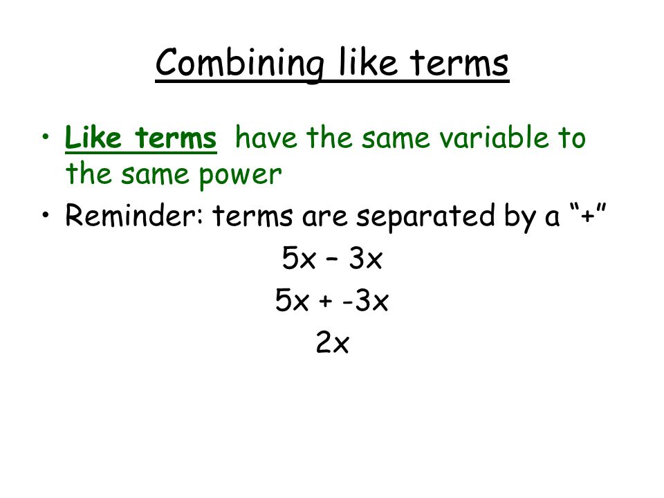Combining like terms equations worksheet pdf