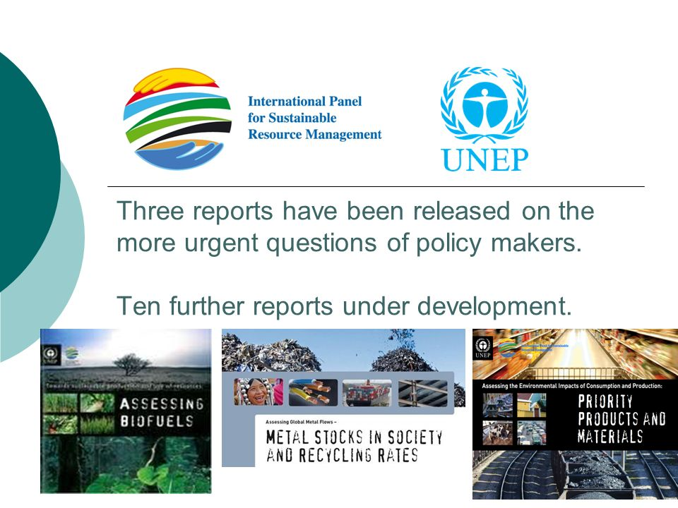 Three reports have been released on the more urgent questions of policy makers.