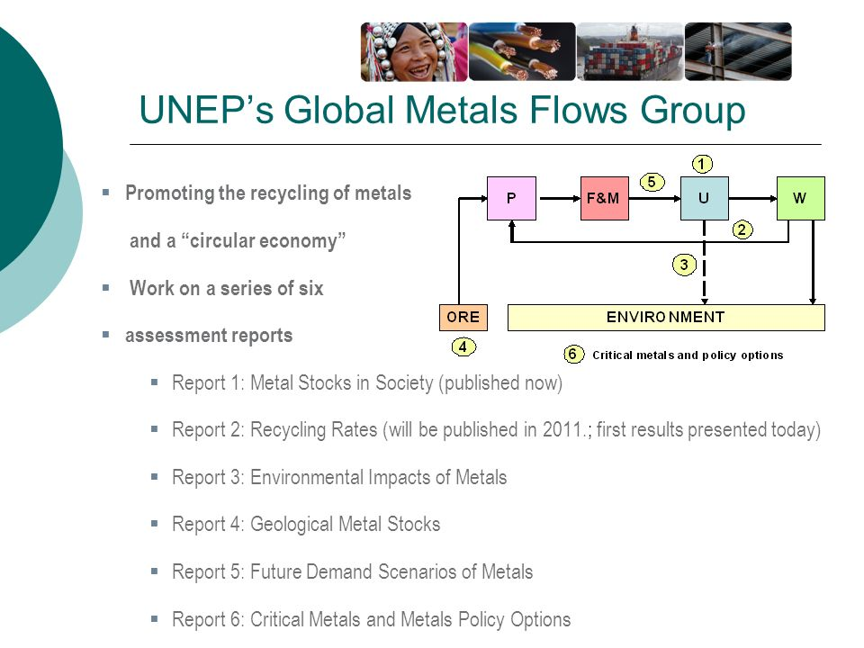 UNEP's Global Metals Flows Group