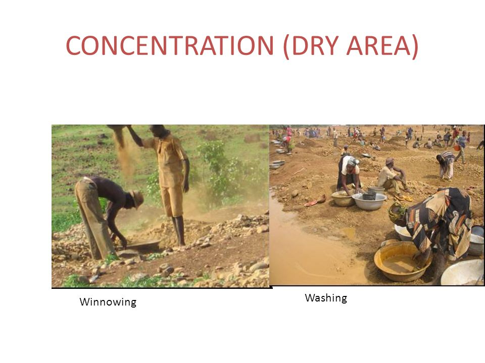 CONCENTRATION (DRY AREA)