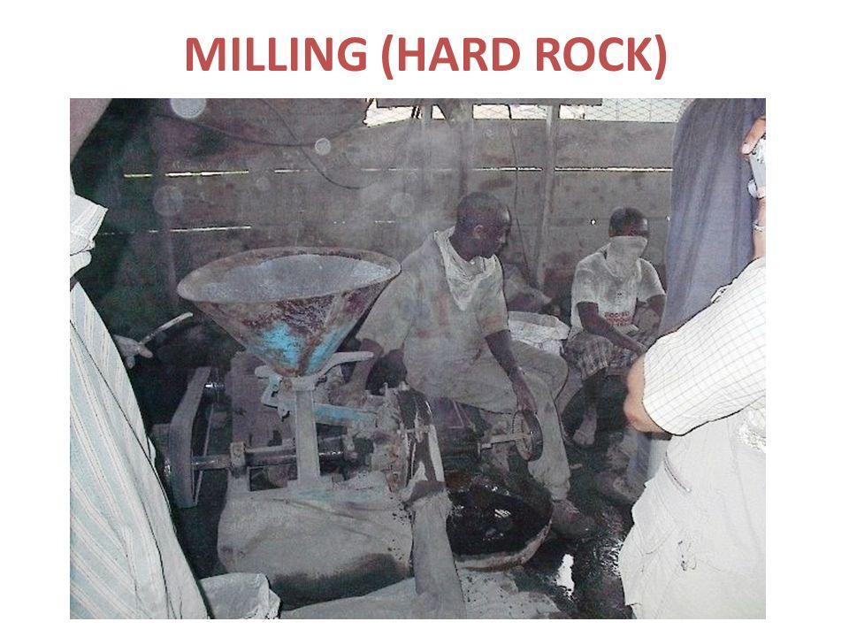 MILLING (HARD ROCK)