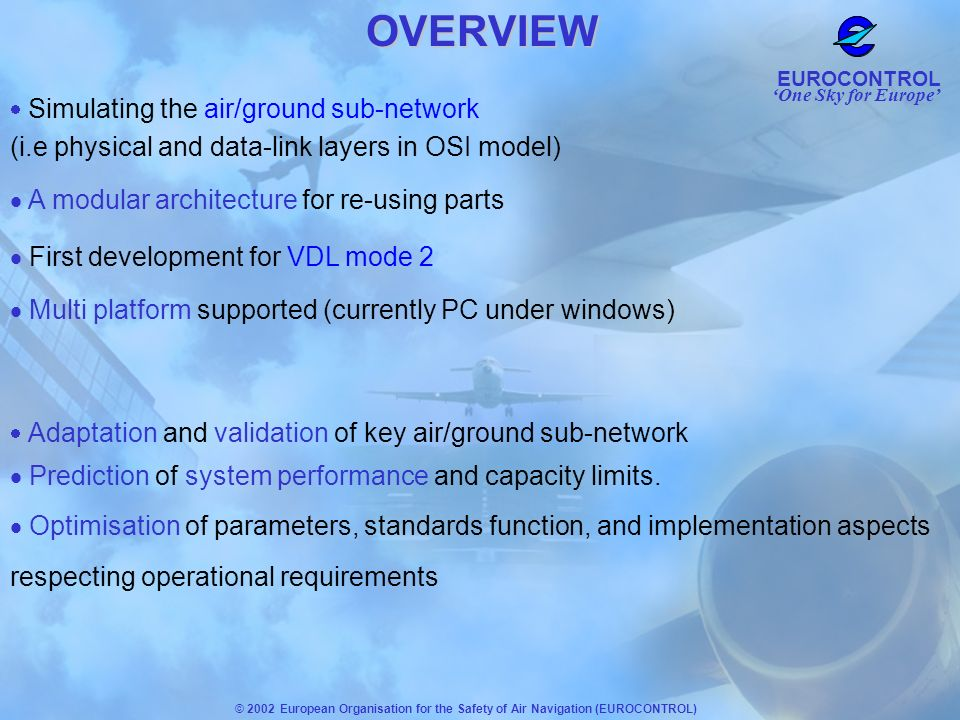 OVERVIEW (i.e physical and data-link layers in OSI model)