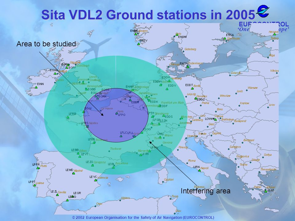 Sita VDL2 Ground stations in 2005