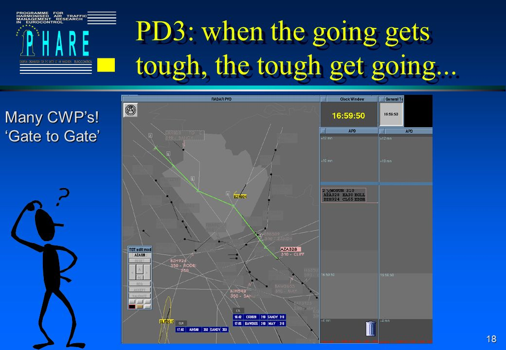PD3: when the going gets tough, the tough get going...