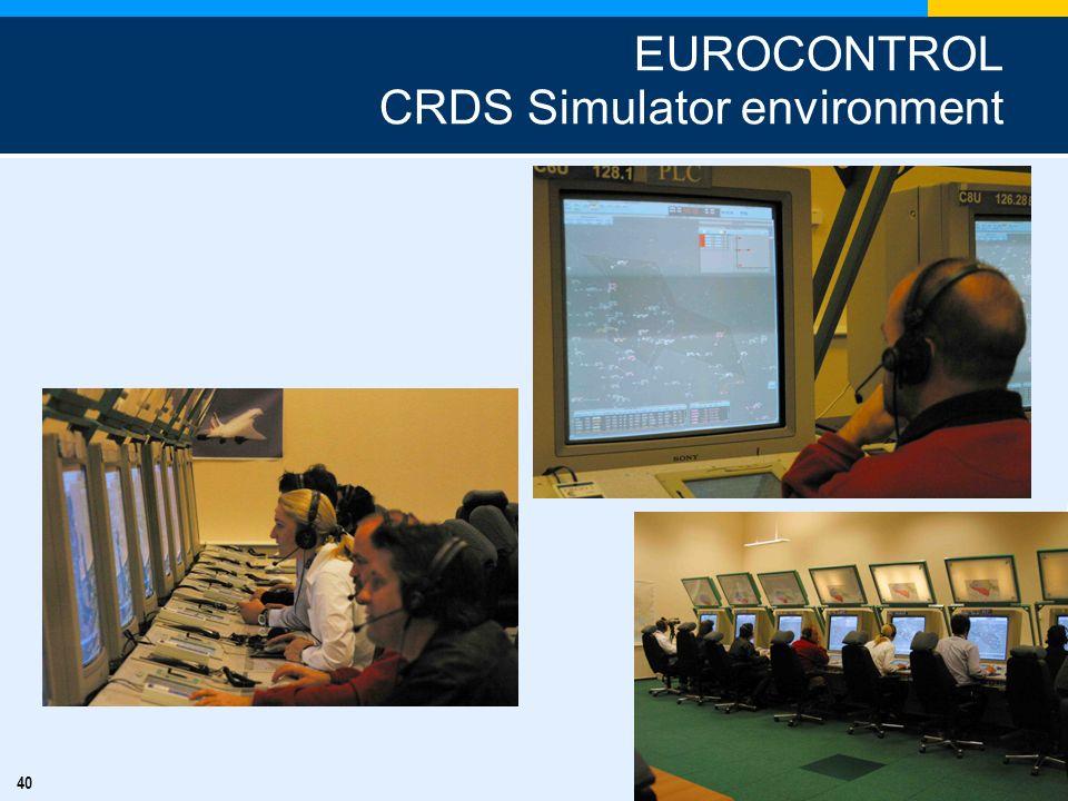 EUROCONTROL CRDS Simulator environment