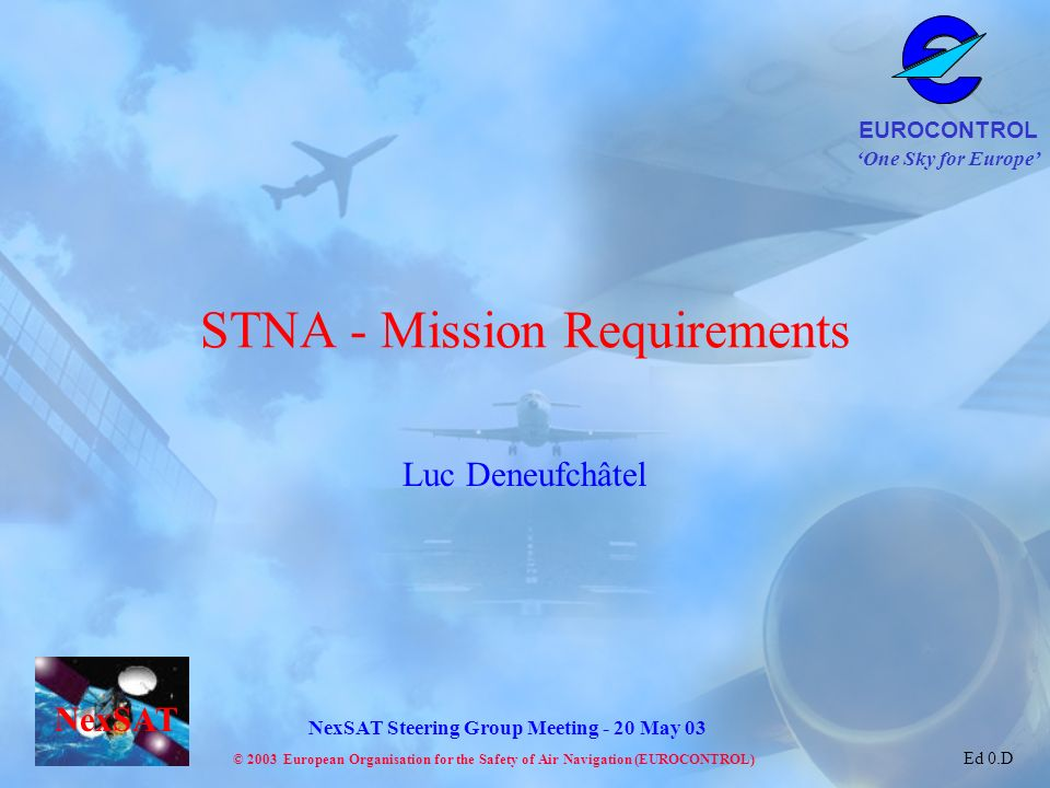 STNA - Mission Requirements