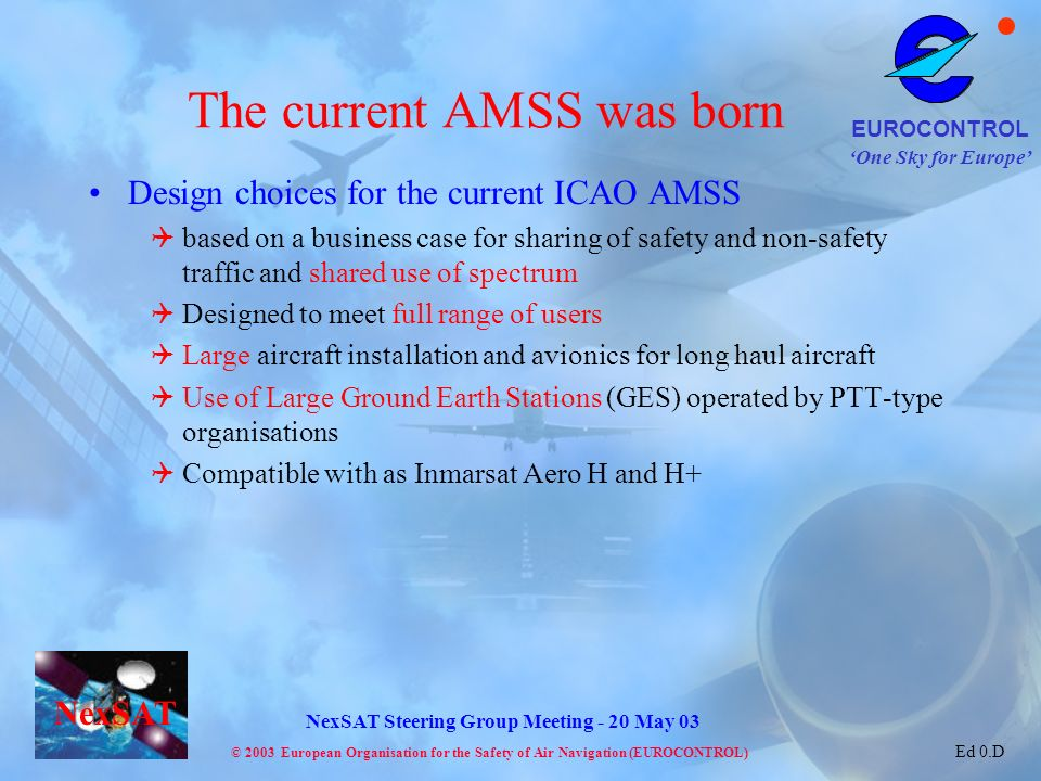 The current AMSS was born