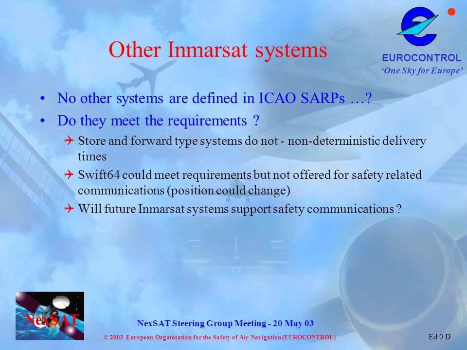 Other Inmarsat systems