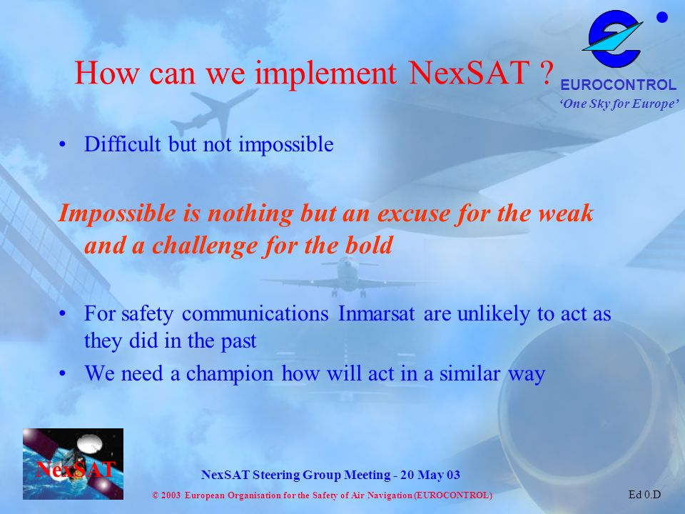 How can we implement NexSAT