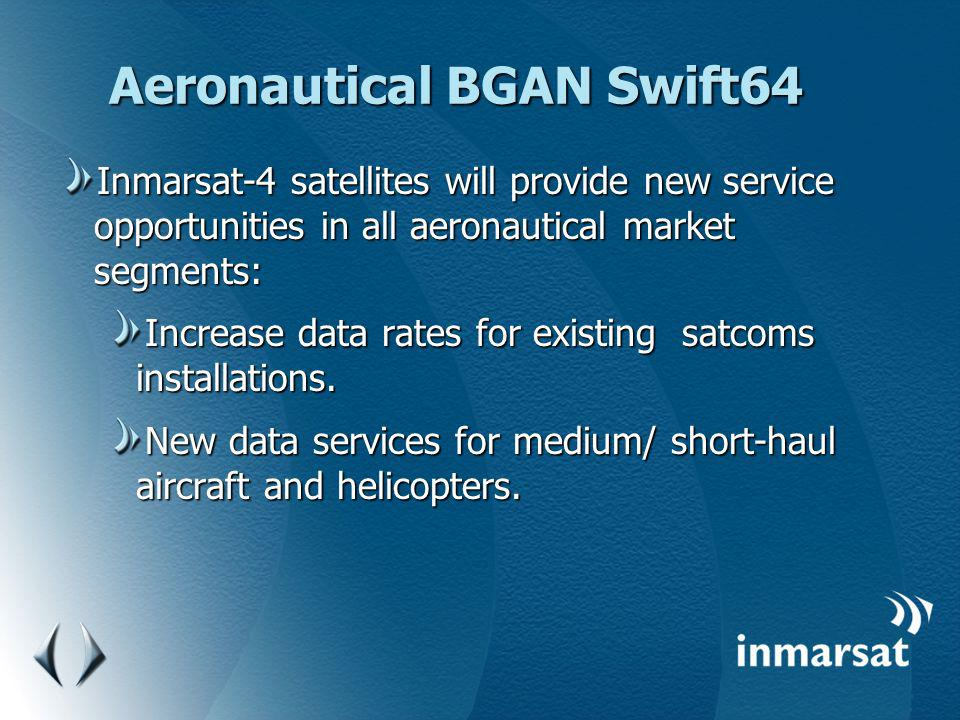 Aeronautical BGAN Swift64