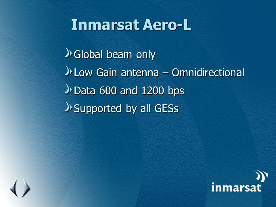 Inmarsat Aero-L Global beam only Low Gain antenna – Omnidirectional