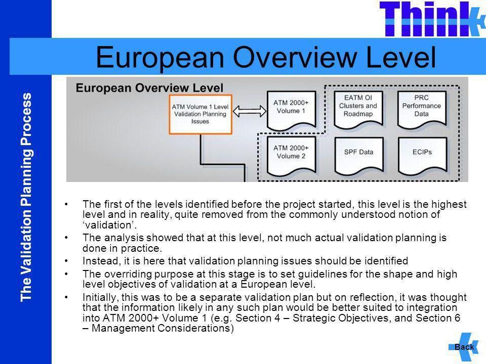 European Overview Level