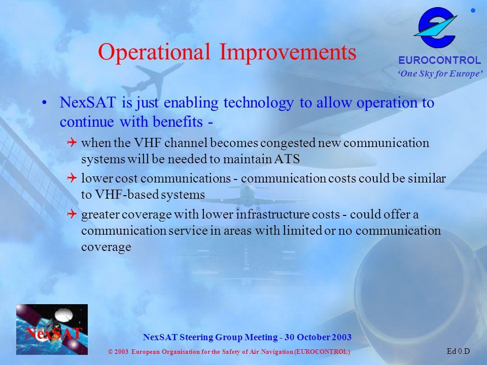 Operational Improvements