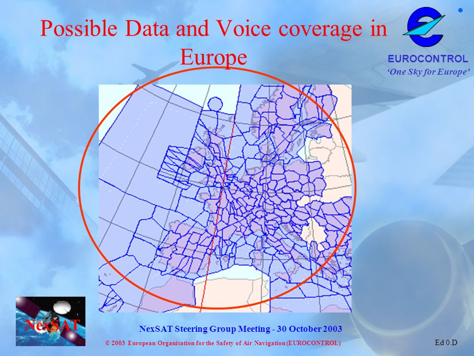Possible Data and Voice coverage in Europe