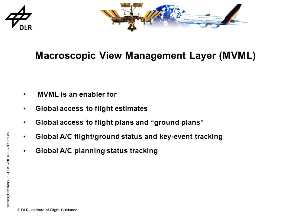 Macroscopic View Management Layer (MVML)