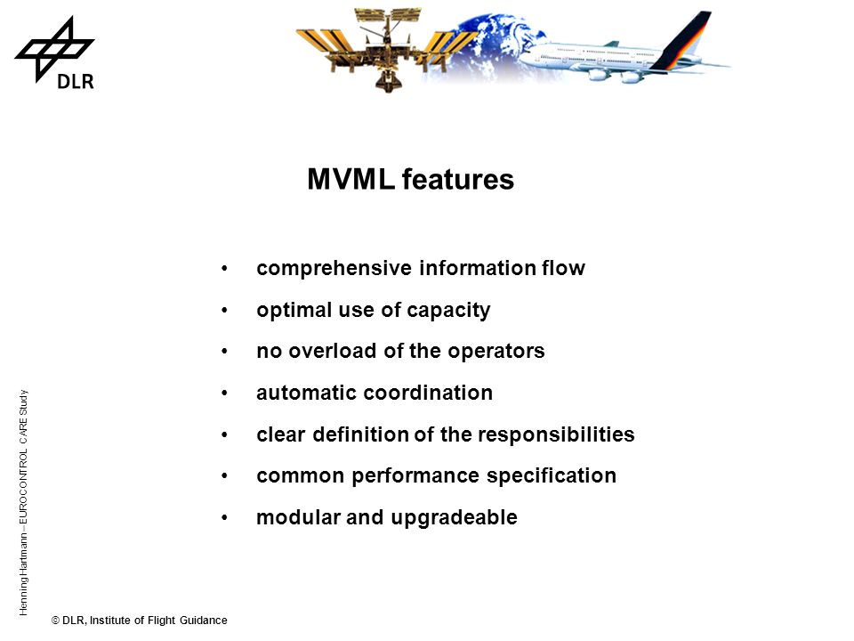 MVML features comprehensive information flow optimal use of capacity