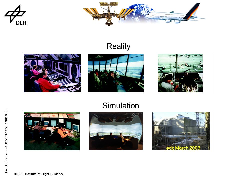 Reality Simulation edc March 2003