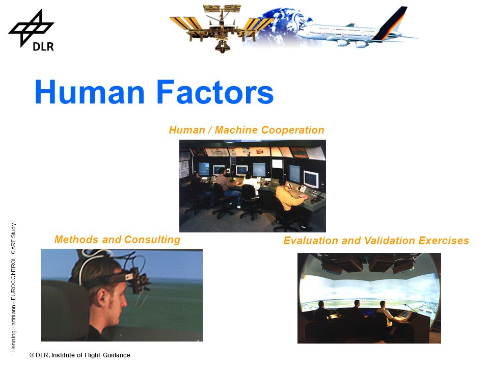 Human Factors Human / Machine Cooperation Methods and Consulting