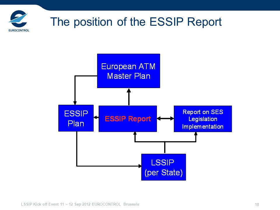 The position of the ESSIP Report