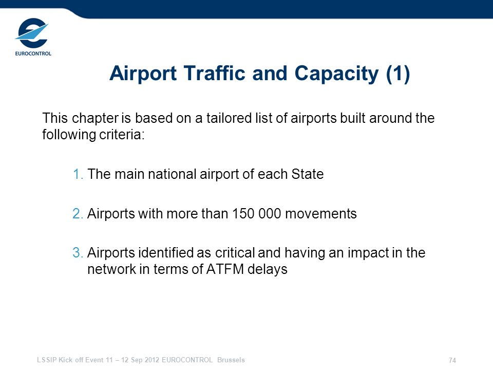 Airport Traffic and Capacity (1)