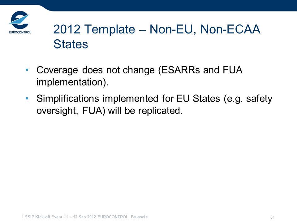 2012 Template – Non-EU, Non-ECAA States