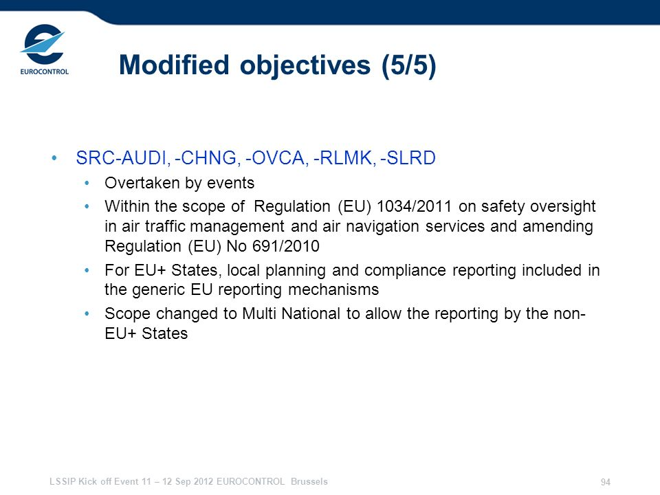 Modified objectives (5/5)