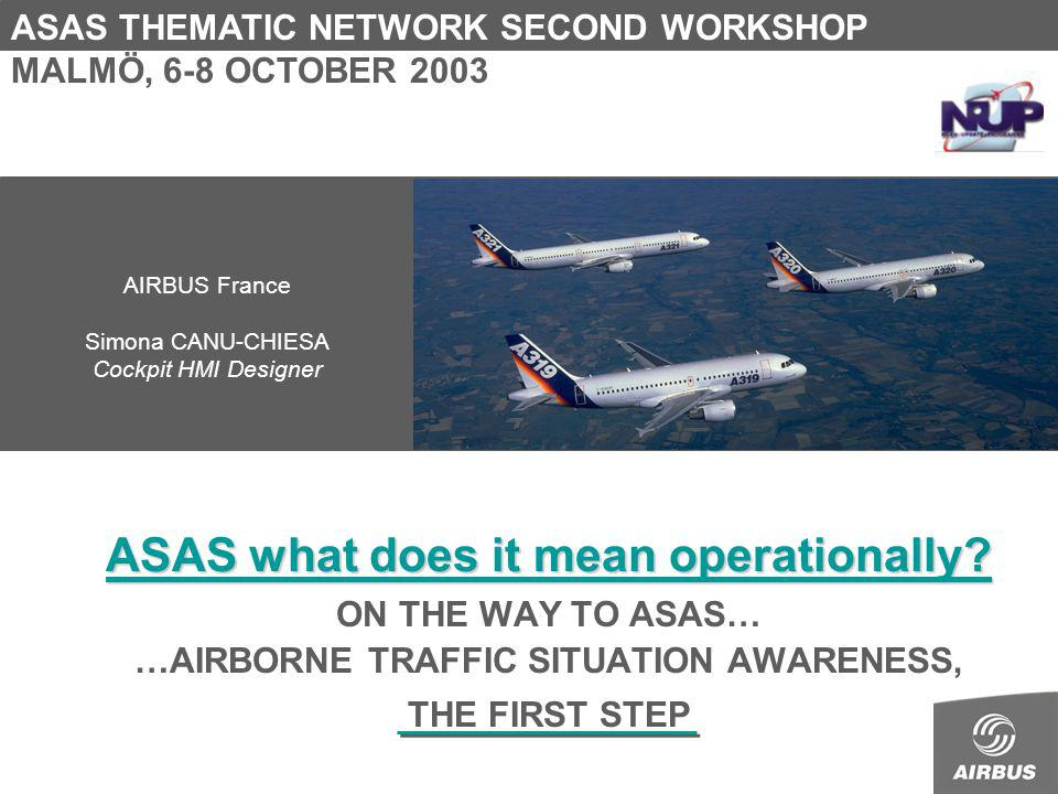 ASAS what does it mean operationally