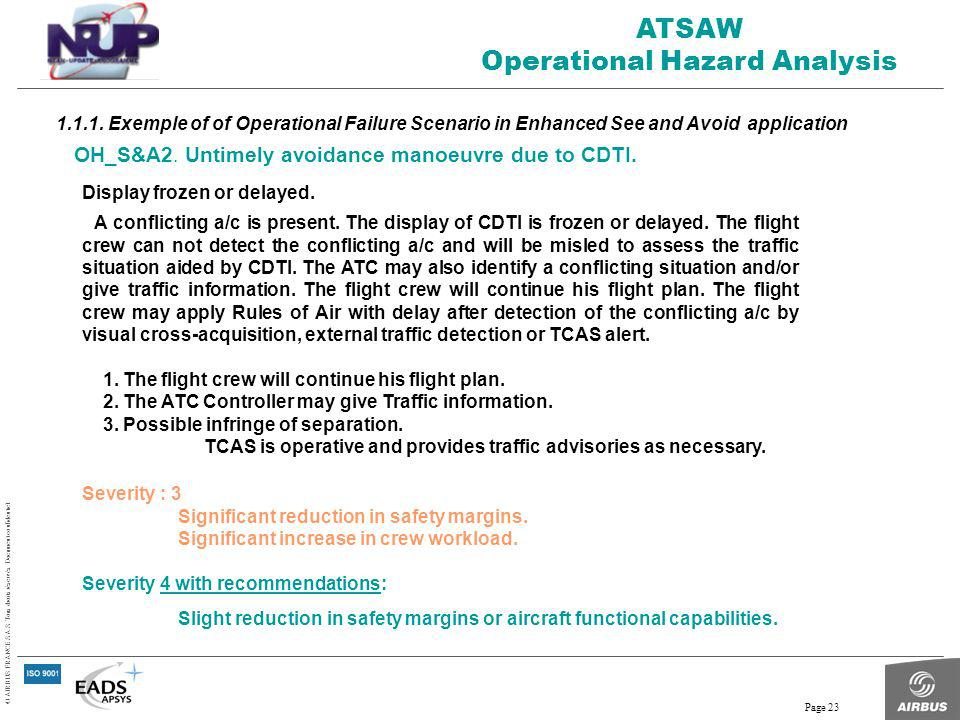 Operational Hazard Analysis