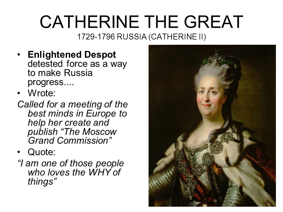 catherine the great enlightened despot or power hungry dictator Explore june riggs's board russian history on catherine the great enlightened despot essaytyper catherine is a military dictator who will smash the power of.