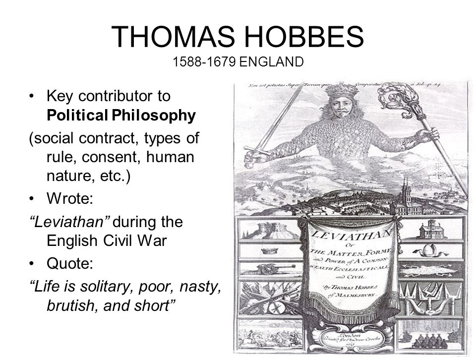 Hobbes's Moral and Political Philosophy