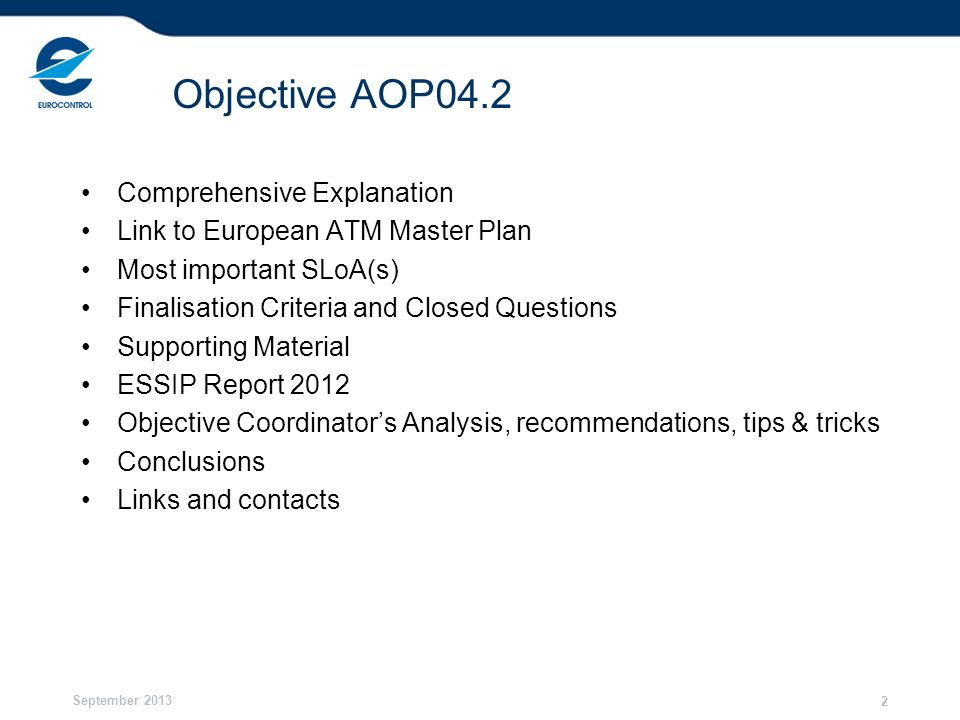 Objective AOP04.2 Comprehensive Explanation