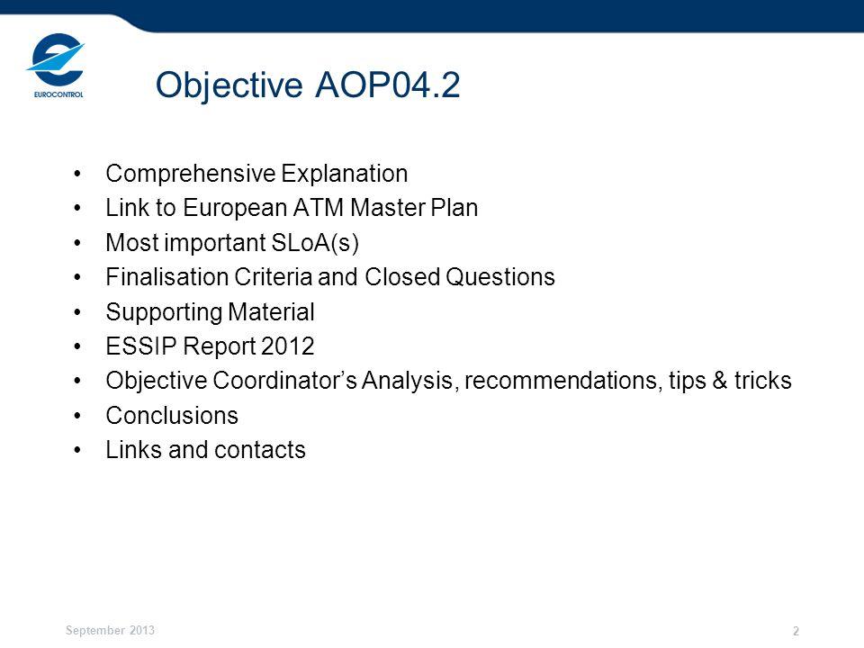 Objective AOP04.2 Comprehensive Explanation