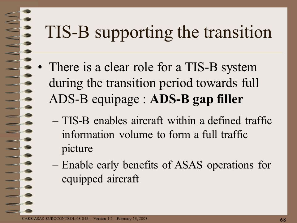 TIS-B supporting the transition