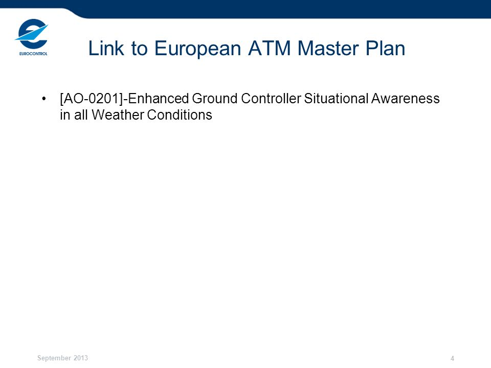 Link to European ATM Master Plan
