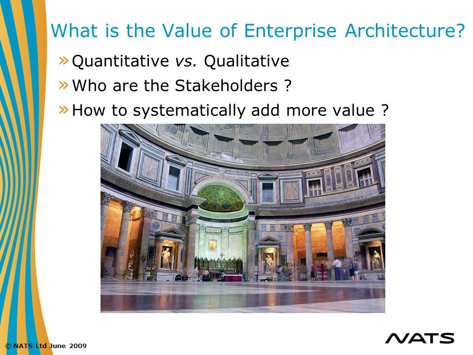 What is the Value of Enterprise Architecture