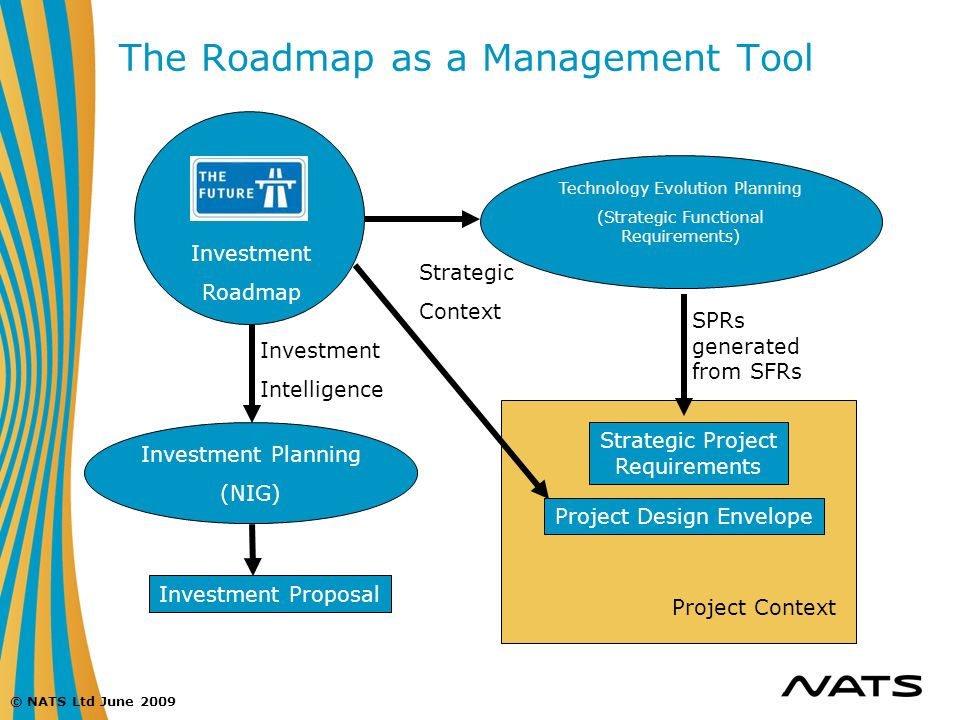 The Roadmap as a Management Tool