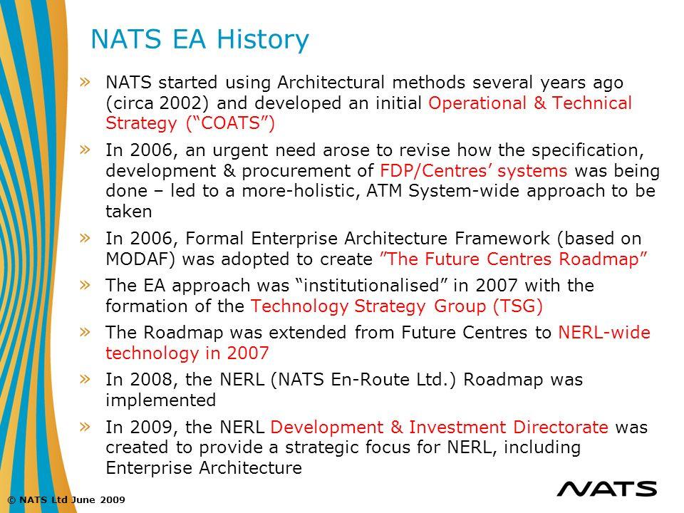 NATS EA History