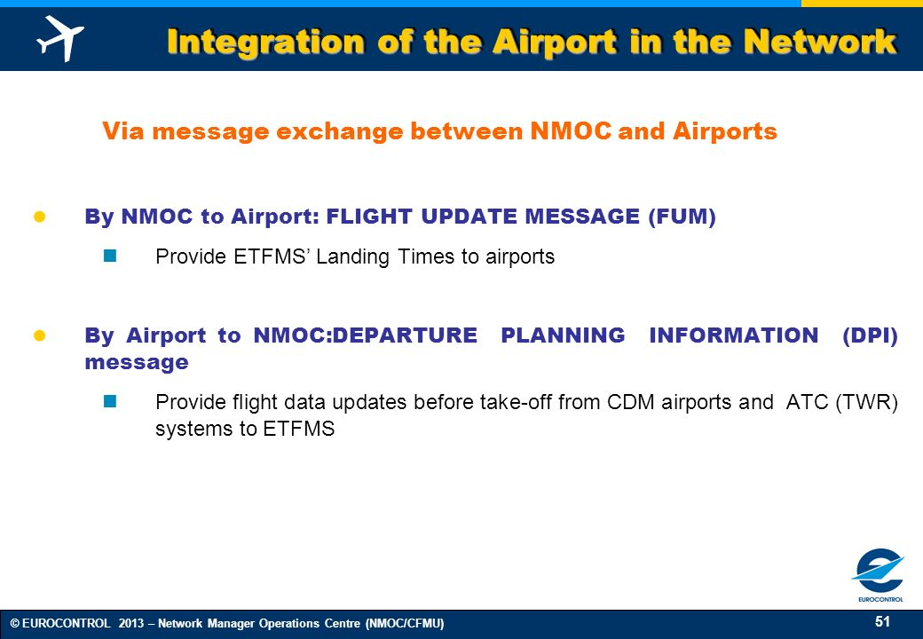 Integration of the Airport in the Network
