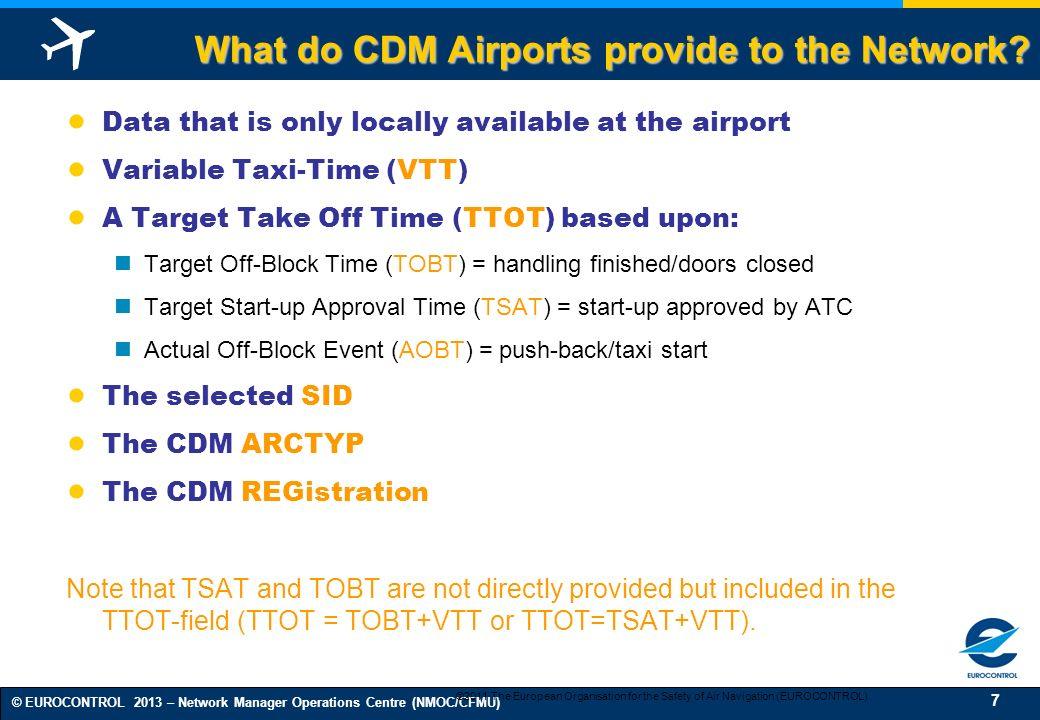 What do CDM Airports provide to the Network
