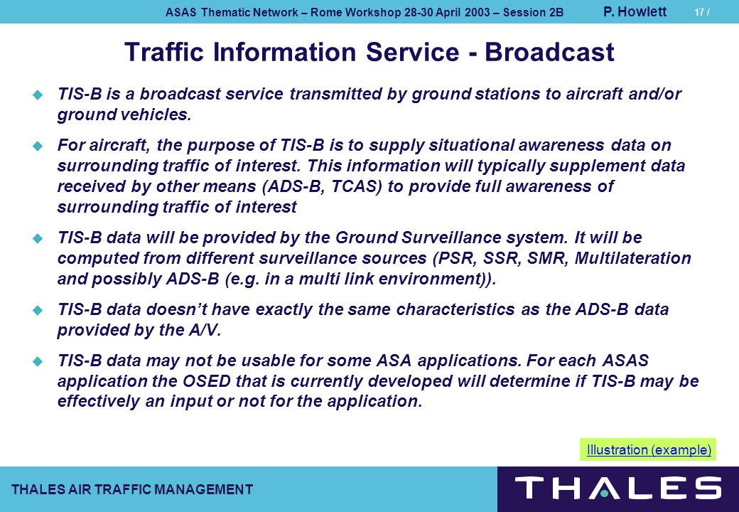 Traffic Information Service - Broadcast