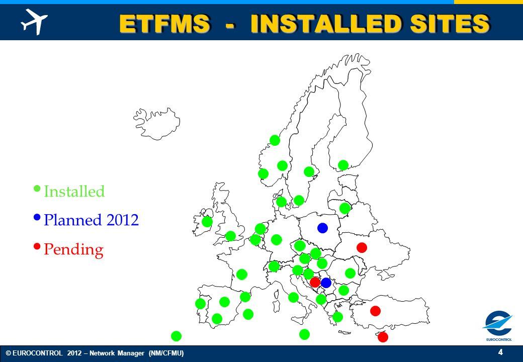 ETFMS - INSTALLED SITES