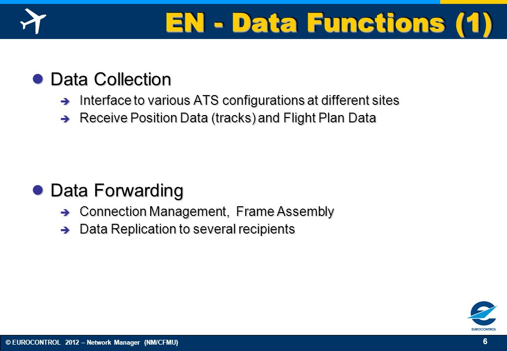 EN - Data Functions (1) Data Collection Data Forwarding
