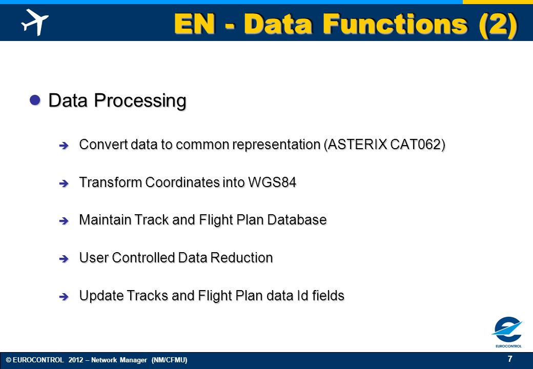 EN - Data Functions (2) Data Processing